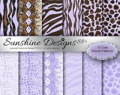 Animal Zebra Background Scrapbook Digital by SunshineDesigns88, $3.98 Scrapbooking, Digital, My Love, Purple, Brown, Etsy, Animaux, My Boo, Scrapbook