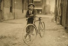 """September 1913 - """"Messenger boy working for Mackay Telegraph Company. Said fifteen years old. Exposed to red light dangers. Location: Waco, Texas."""""""