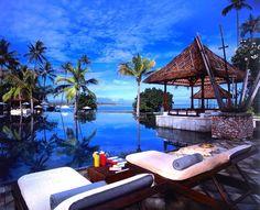 Die perfekte Kulisse für entspannte Tage am Strand: The Oberoi Lombok, Indonesien