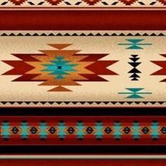 Native Saddle Blanket - Terra Cotta