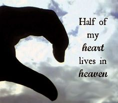 Half of my heart lives in heaven. #bocamaus #bocaraton #delraybeach Way Of Life, Love Of My Life, Jean Christophe, Miss You Dad, Pomes, After Life, Love Can, In Loving Memory, Found Out