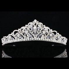 Bridal Pageant Butterfly Rhinestone Crystal Prom Wedding Crown Tiara 8898 | eBay