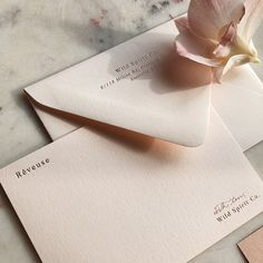Sometimes the RSVP card deserves some love too 😍 3 different printing methods on this little piece of handmade paper. So many pretty… Stationery Paper, Stationery Design, Invitation Design, Branding Design, Wedding Stationary, Wedding Invitations, Wedding Cards, Diy Wedding, Magic Words