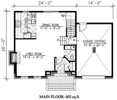 European House Plan 48165 Level One