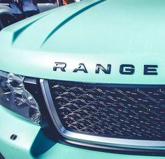 Tiffany color range rover