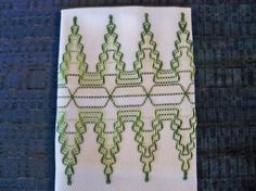 Item 1003A Waves  Swedish Weaving/Huck Weaving by NannasNeedleNook, 7.00