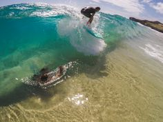 Crystal clear waves at North Shore this week! #GoPro