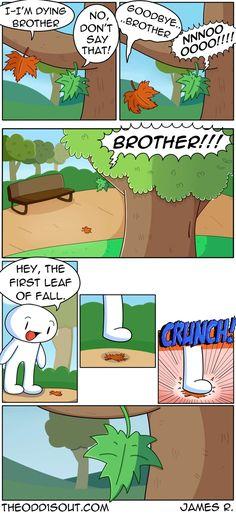 Theodd1sout :: It's Fall | Tapastic Comics - image 1