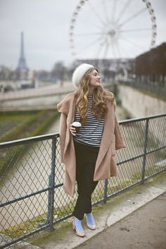 Paris, in the Tuileries drinking hot chocolate from Angelina's by Making Magique, via Flickr