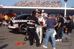 """56. June 6, 1993  -   Dover Downs International Speedway:   Budweiser 500  -    The first Dover race of 1993 went swimmingly for Dale Earnhardt, resulting in a win. The second time to the track that year was not so successful: Richard Childress Racing gasman Danny """"Chocolate"""" Myers had to calm down his driver following a crash."""