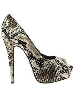 super affordable python platform pumps