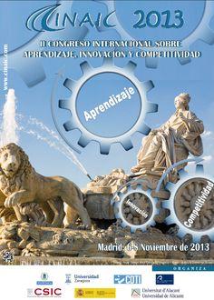 II Congreso Internacional sobre Aprendizaje, Innovación y Competitividad, CINAIC 2013. Ha publicado con licencia Creative Commons las actas de su congreso.  Son 142 trabajos, en su mayoría en el ámbito universitario, que abordan diversos temas: MOOC, Gamificación, Cooperación, Tecnologías emergentes, Competencias, etc.