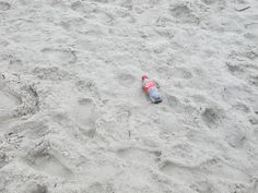 #CocaCola - a cool refreshing drink left on the beach for the #mermaids. 8.4.14  ♥︎ Mommy Moo Moo #trash
