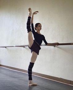 A dancer makes hard work look effortless