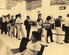 História dos bancos no Brasil 1980  fila única