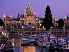 Victoria, BC, Canada.  Greg and I spent alot of time in Victoria when we lived in WA.  I would live in here in a heartbeat.
