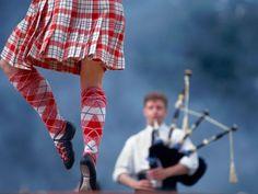 Scottish Highland dancing :)