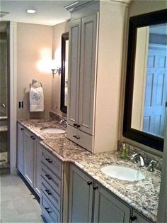 Bathroom Cabinets from Pioneer Cabinetry. Bathroom Cabinets, Master Bath, Bathrooms, Inspiration, Furniture, Home Decor, Bathroom Vanity Cabinets, Biblical Inspiration, Decoration Home