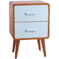 Shop for Porthos Home Clark Mid-Century Double-Drawer End Table. Get free…