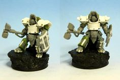 Daemon hunter created by RAFF.  Inquisitor in Terminator armour