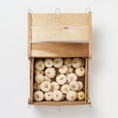 Terrain Mini White Pumpkin Crate #shopterrain