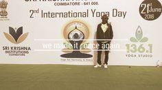 2 nd INTERNATIONAL YOGA DAY @ India by yogalayam