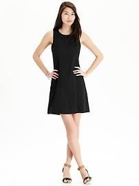 Women's Lace-Overlay Ponte-Knit Shift Dresses