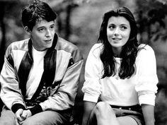 Mia Sara in Ferris Bueller's Day Off, 1986 Ferris Bueller, 90s Movies, Good Movies, Movie Tv, 1980s Films, Cult Movies, Iconic Movies, Watch Movies, Movies Showing