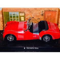 Excited to share the latest addition to my shop: Triumph TR3A in 1/18 scale diecast by Kyosho http://etsy.me/2mNUxB1 #triumph #tr3a #kyosho #diecast #diecastcars #cars #car #toycar #vintagecar #vintage #antique #red #118 #118scale