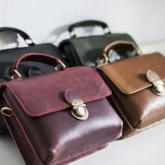 All the colors of the bag Lin by De•vi