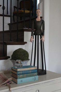 Decorating with Santos Dolls   Cool or Creepy?