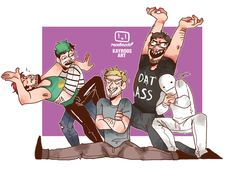 Draw the squad challenge by Kayroos on DeviantArt