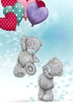 Hi Friends ~ Just dropping in from Down Under, Australia❤️Love and Hugs (f/ my sweet Annie Lil Bluebird! Tatty Teddy, Teddy Bear Images, Teddy Bear Pictures, Watercolor Card, Teddy Beer, Blue Nose Friends, Love Bear, Cute Teddy Bears, Bear Art