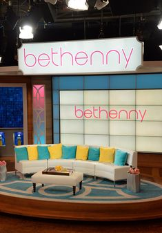 bethenny frankel talk show set - Google Search