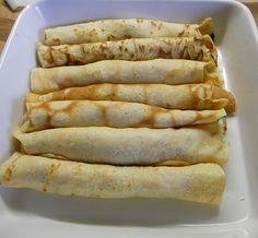 Palacsinta. traditional Hungarian Pastry ..