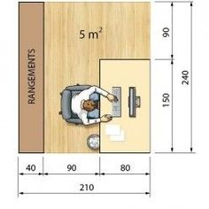 Van Home Layout 662662532660988972 - Source by didietrocme Office Layout Plan, Office Floor Plan, Office Setup, Office Furniture Design, Office Interior Design, Office Interiors, Open Office Design, Architecture Office, Layout Design