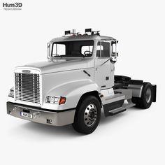 40 Freightliner 3d Models Ideas Freightliner Trucks Freightliner 3d Model