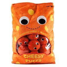 Cheesy Puffs - XL Yummy World Plush