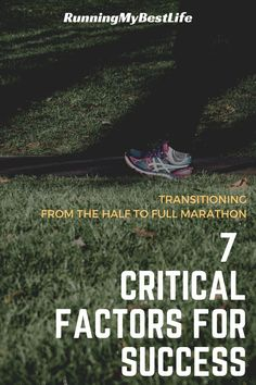 Before you jump into a marathon training plan and hit that register button, take a moment to think through your decision logically and see if you have the fitness, time, and energy to commit to a full marathon. Thinking through these factors now will help you plan for the challenges of training. #marathontraining #halftofullmarathon #marathon