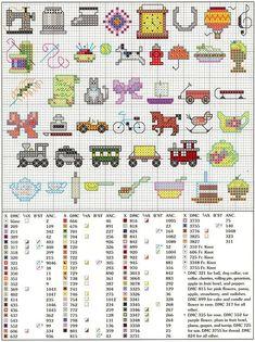 cross stitch mini motifs | 150 Mini Motifs.. cross stitch