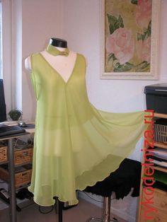 Dress patterns for 5 minutes - inspiration craftswomen