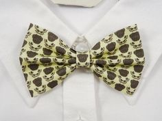 Pug Dog Faces Bow Tie by PixieBluebellDesigns on Etsy