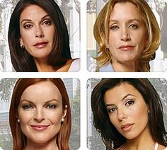 "Desperate Housewives- One of my favorite shows ever! These ladies could also be added to my ""Inspirational"" Board"