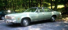 1975 Chevrolet Malibu Classic Colonnade Sedan 4dr - similar to the Chevelle my folks bought new in '74, same color, no vinyl top. We called it 'The Narc Car' since it looked exactly like the undercover cop's car in town.