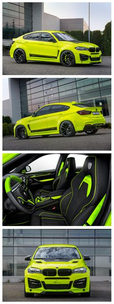 This extrovert LUMMA CLR X6 R wide body styling kit further emphasises the masculine contours of BMW's Sport Activity Vehicle (SAV), giving it real head turning presence.