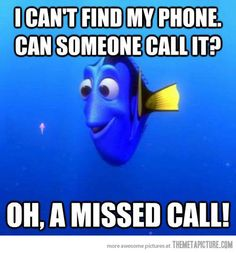 Missed called...I do this every single time…