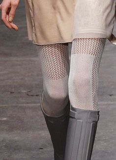 Missoni Fall 2013 .... the tights and the boots