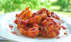 Couliflower hot wings!