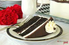 Lick The Bowl Good: Black and White Cake....I'm Back!!!