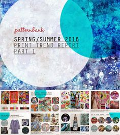 TRENDS // PATTERNBANK - PRINT TREND REPORT PART 1 - S/S 2016